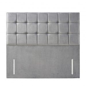 quad grey headboard