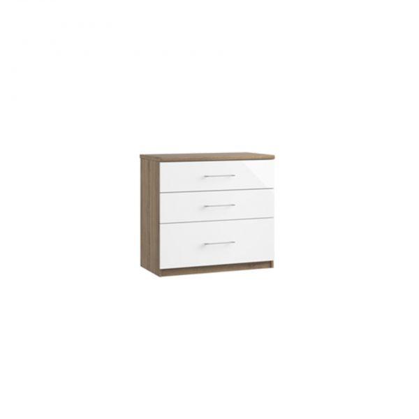 catalia three chest of drawers deep