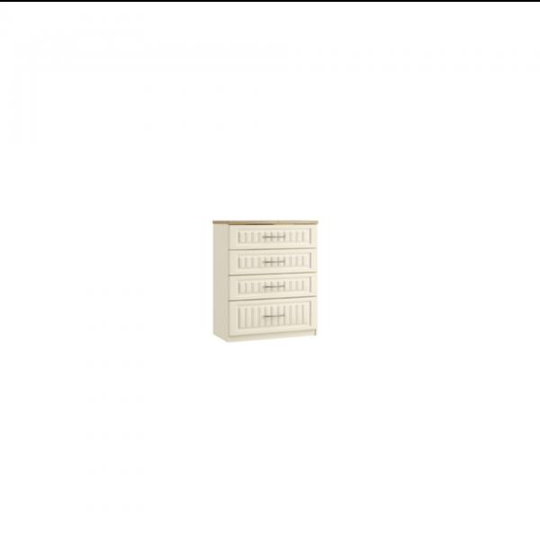 portofino 4 chest of drawers midi deep drawer