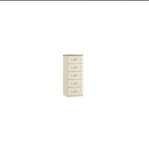 portofino narrow five chest of drawers