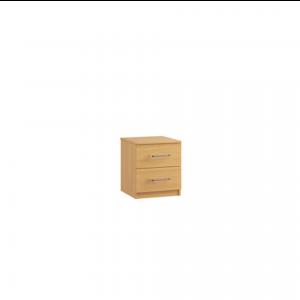 ravenna 2 drawer bedside cabinet