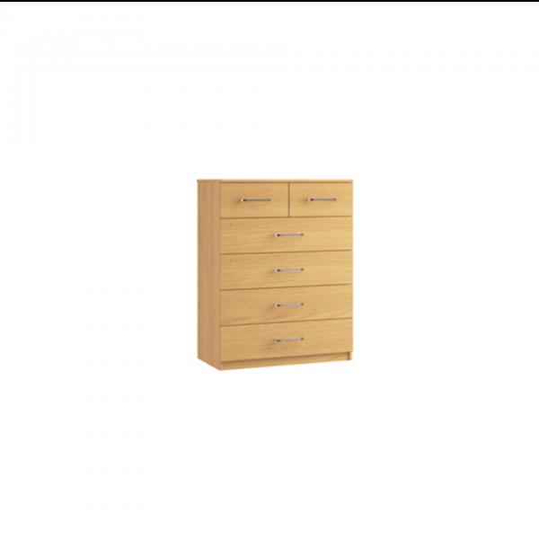 ravenna 4+2 chest of drawers