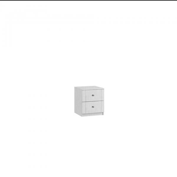 siena 2 drawer bedside cabinet