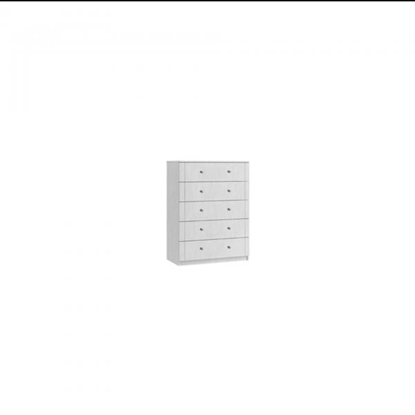 siena 5 drawer chest