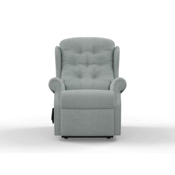 celebrity mobility armchair sofa settee riser recliner blue