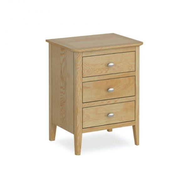 Bath Oak Bedside Cabinet