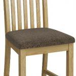 Bath Oak Slatted Dining Chair (Pair)