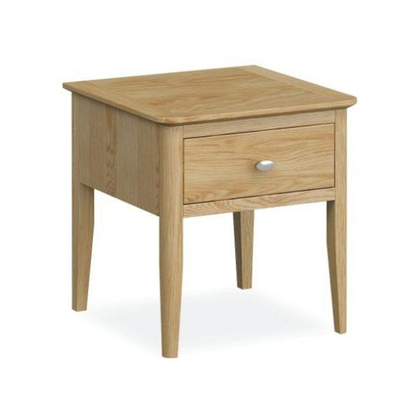 Bath Oak lamp Table