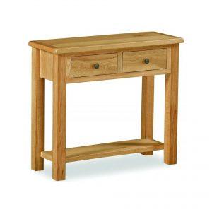 Cork Lite Oak Console Table