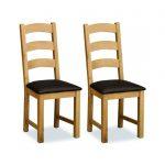 Cork Lite Oak Dining Chair