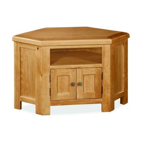 Cork Oak Corner TV Unit