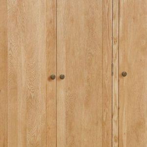 Global Home Cork Lite Oak 3 Door 2 Drawer Wardrobe 2