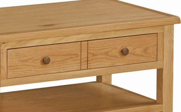 Global Home Cork Lite Oak Coffee Table