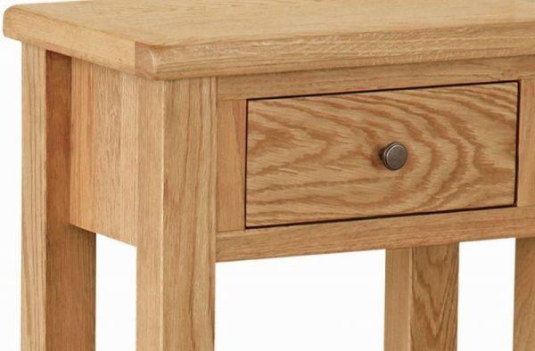 Global Home Cork Lite Oak Telephone Table