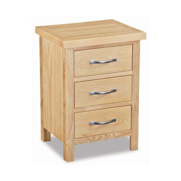 New Trinity Oak Bedside Cabinet