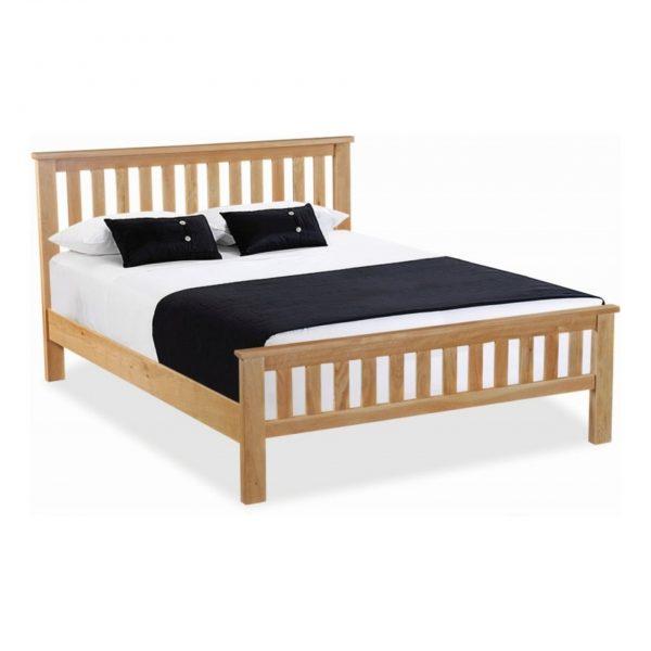 New Trinity Oak Double Bed
