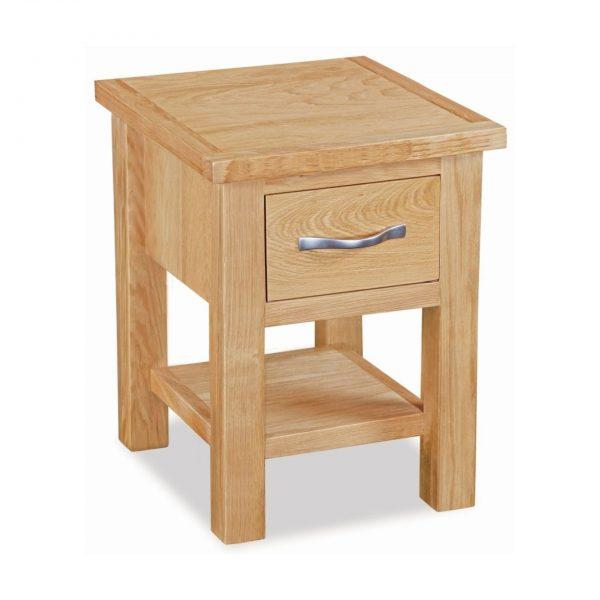 New Trinity Oak Lamp Table