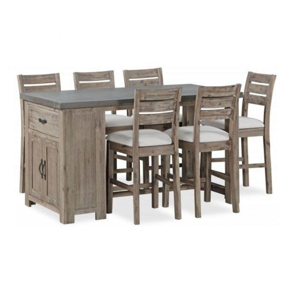 Rockhampton Concrete Top Bar Table