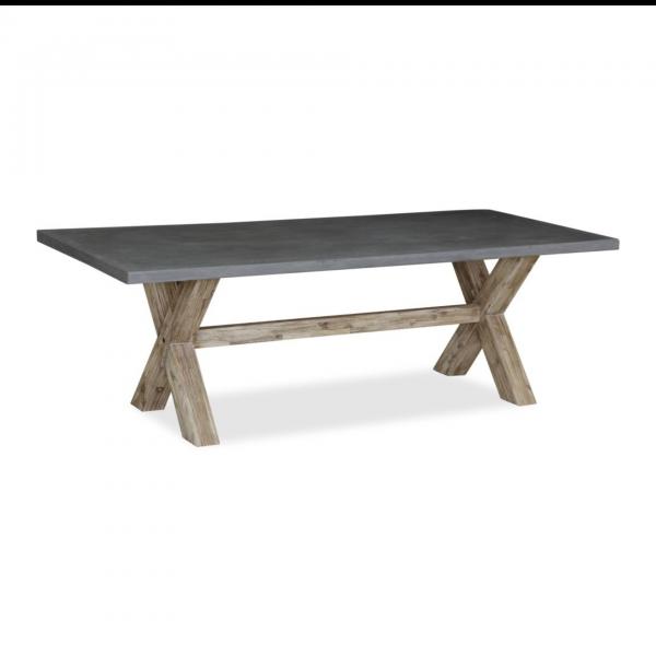 Rockhampton Concrete Top Dining Table