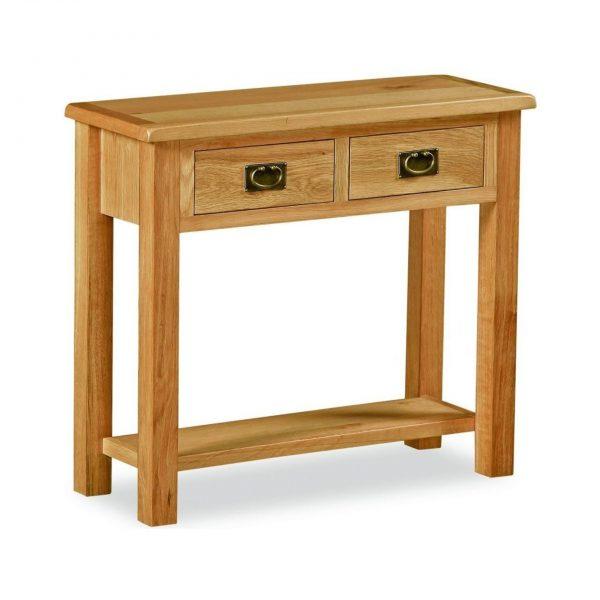 Salisbury Lite Oak Console Table