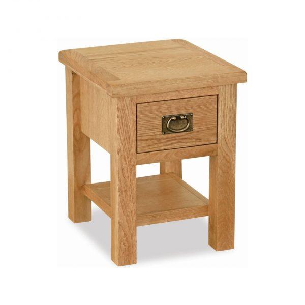 Salisbury Lite Oak Lamp Table
