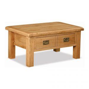 Salisbury Oak 2 Drawer Coffee Table
