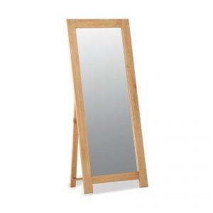 Salisbury Oak Cheval Mirror