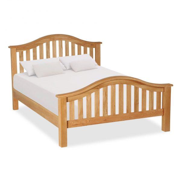 Salisbury Oak Classic Slatted Bed