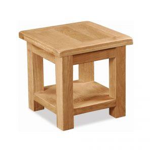 Salisbury Oak Lamp Table