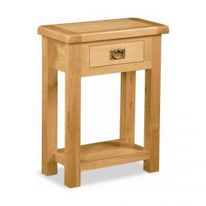 Salisbury Oak Telephone Table