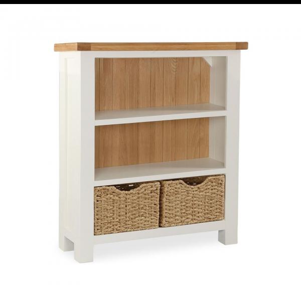 Suffolk Buttermilk Low Bookcase