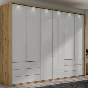 Loft Bianco Oak Pebble Grey