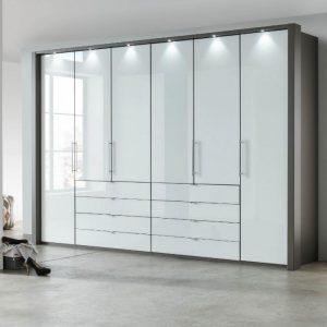 Loft havana white 8 drawers